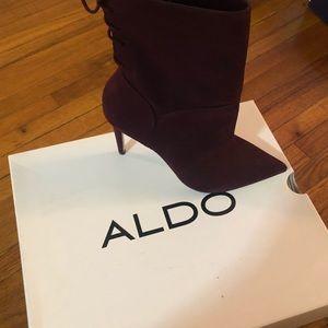 Aldo booties 8.5